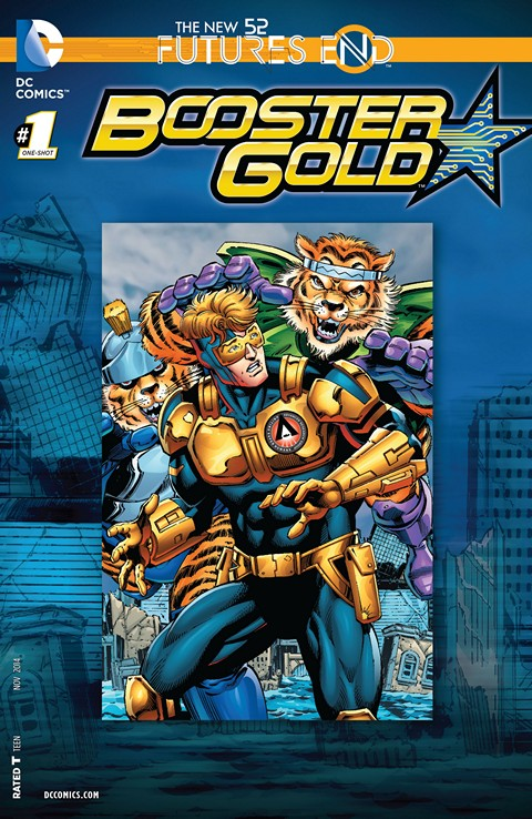 Booster Gold – Futures End #1 Free Download