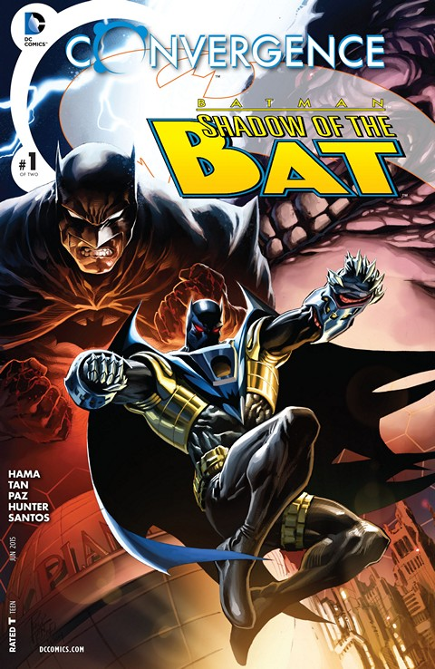 Convergence – Batman – Shadow of the Bat #1 Free Download