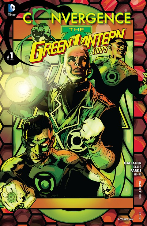 Convergence – Green Lantern Corps #1