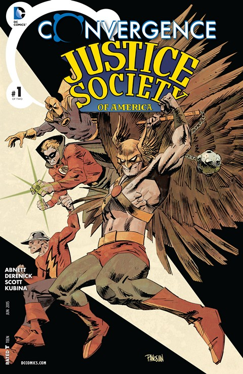 Convergence – Justice Society of America #1
