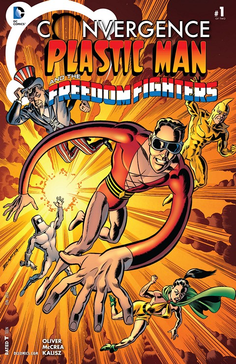 Convergence – Plastic Man and the Freedom Fighters #1