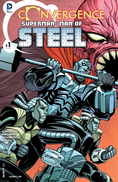 Convergence – Superman – Man of Steel #1 Free Download