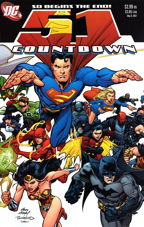 Countdown to Final Crisis #51 – 1