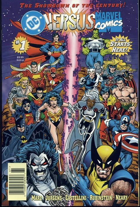 DC Versus Marvel – Marvel Versus DC (Amalgam) Complete