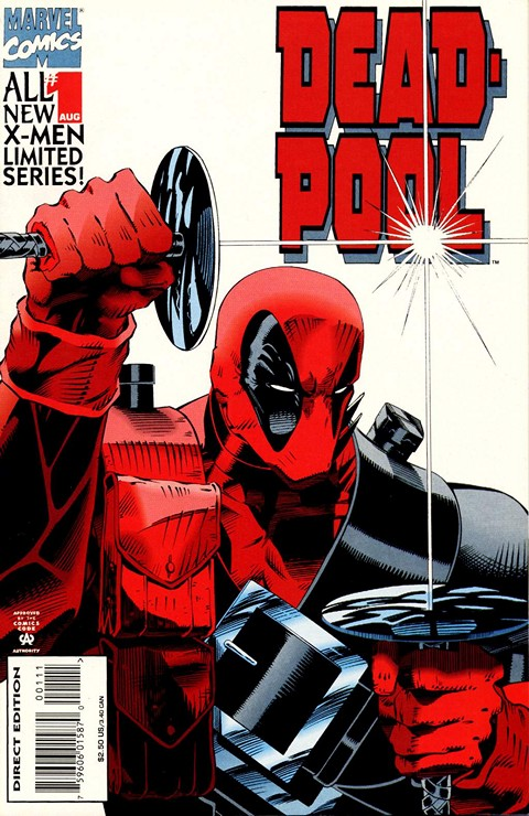 Deadpool – Sins Of The Past #1 – 4