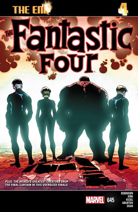 Fantastic Four #642 – 645
