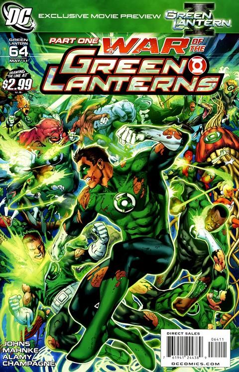 Green Lantern: War of the Green Lanterns (2012)