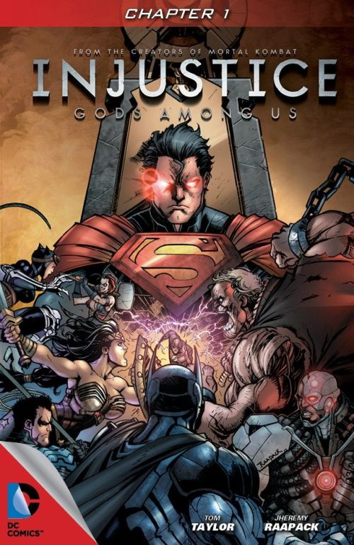 Injustice – Gods Among Us – Year One #1 – 36 Free Download