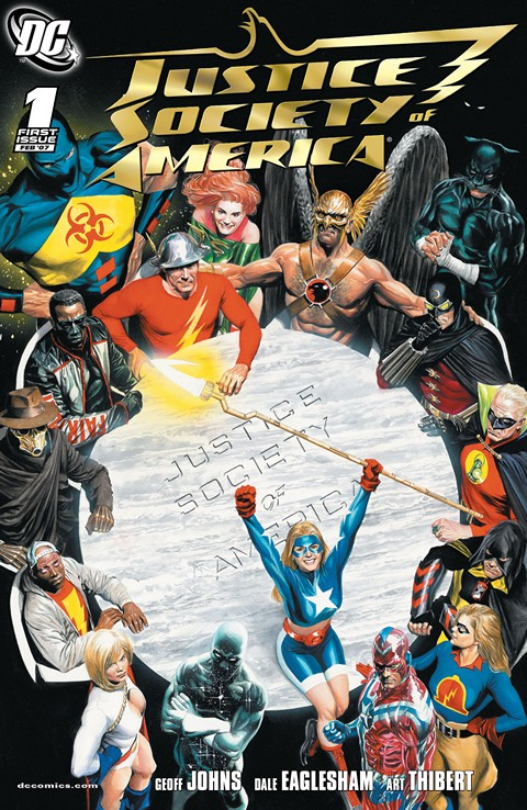 Justice Society of America Vol. 3 #1 – 54 + Annual (2007-2011)
