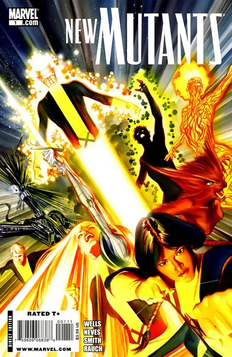 The New Mutants Vol. 3 #1 – 50 + Extras (2009-2012)