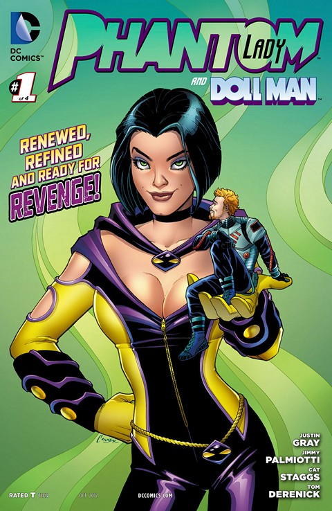 Phantom Lady #1 – 4 Free Download