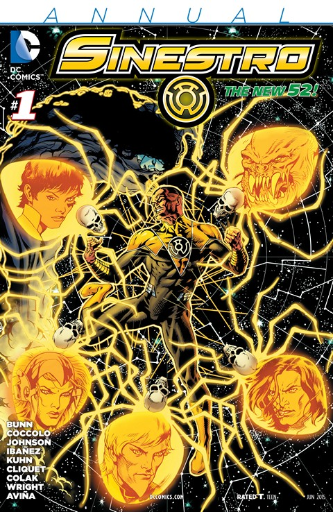 Sinestro Annual #1 Free Download