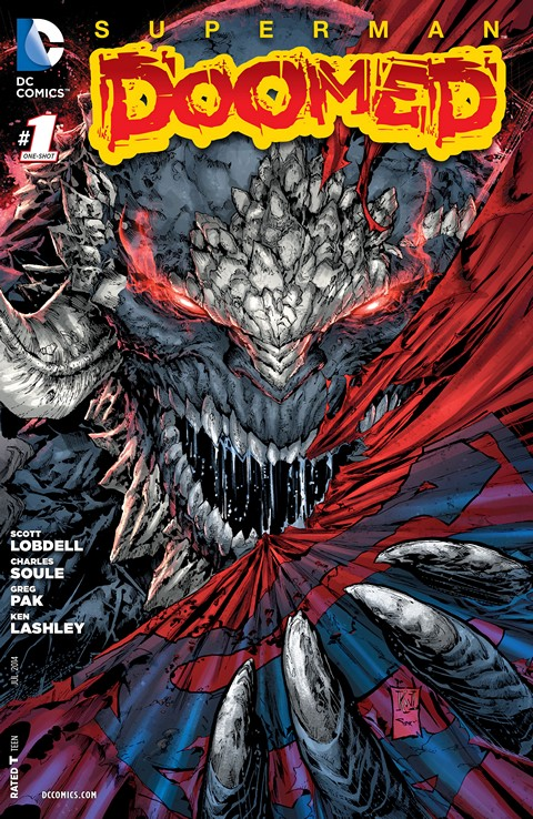 Superman – Doomed #1 – 2 (2014)