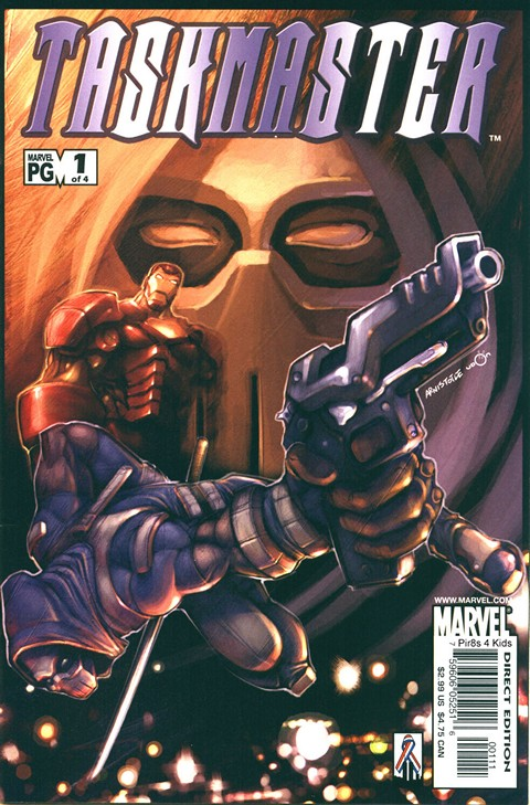 Taskmaster Vol. 1 #1 – 4