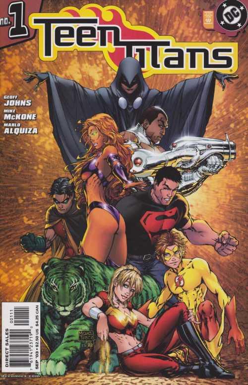 Teen Titans Vol 3 #0.5 – 100 (2003-2011)