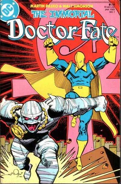 The Immortal Dr. Fate #1 – 3