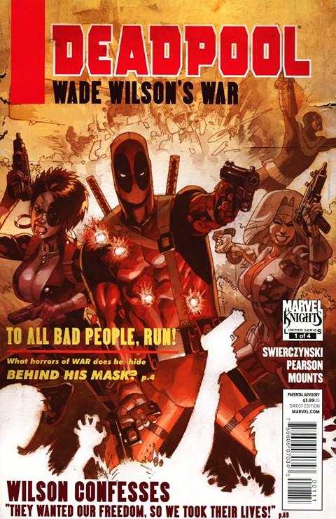 Wade Wilson's War #1 – 4