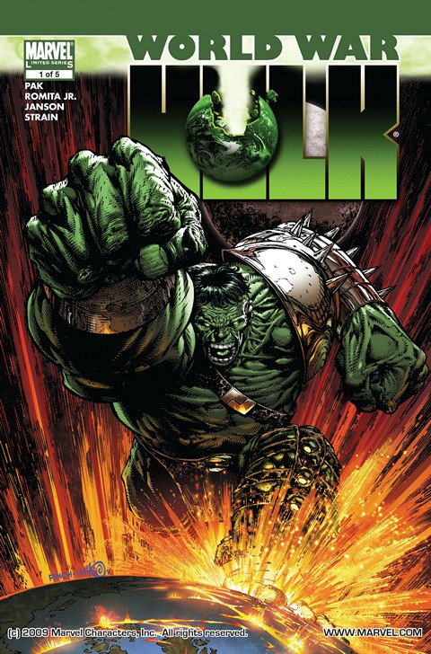 World War Hulk #1 – 5 (2007 Issues) Free Download