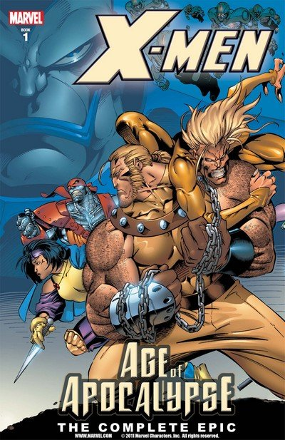 X-Men – Age of Apocalypse – The Complete Epic Vol. 1 – 4 (2005-2006)