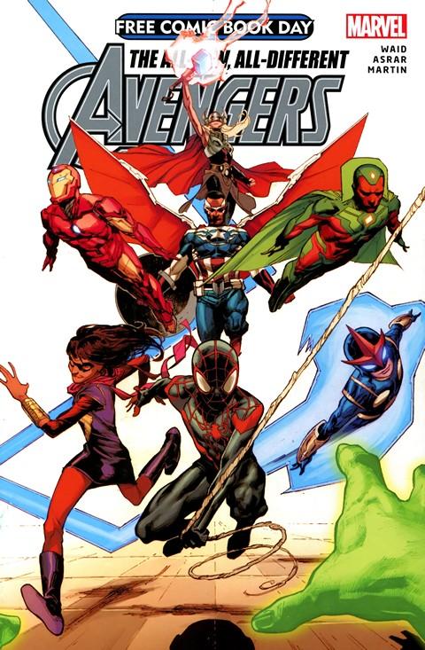 Avengers #1 (Free Comic Book Day 2015)