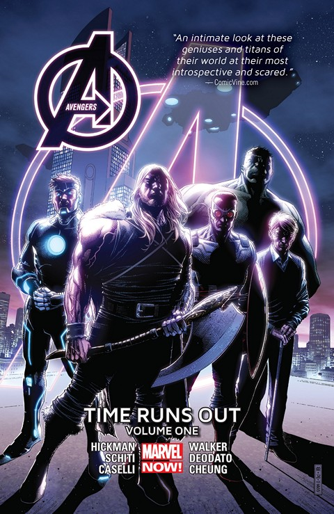 Avengers – Time Runs Out Vol. 1 – 3
