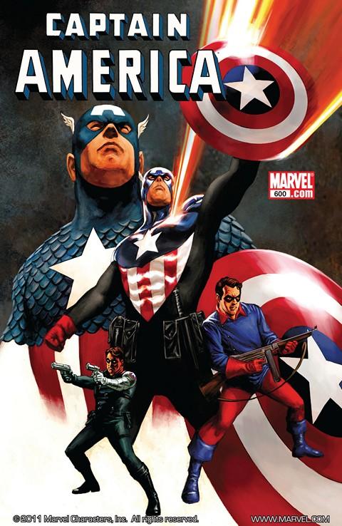 Captain America Vol. 1 #600 – 640 + Extras (2009-2012)