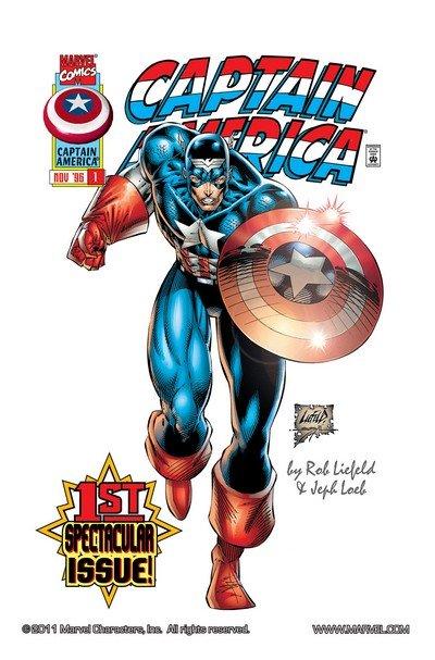 Captain America Vol. 2 #1 – 13 (1996-1997)