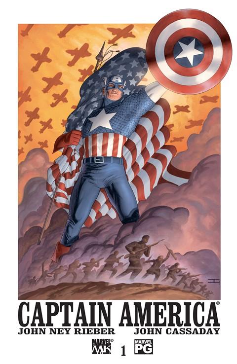 Captain America Vol. 4 #1 – 32 (2002-2004)