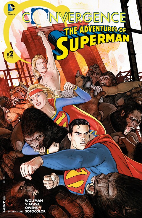 Convergence – Adventures of Superman #2