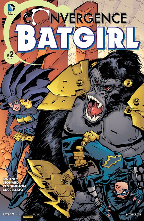 Convergence – Batgirl #2