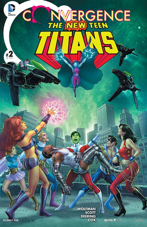 Convergence – The New Teen Titans #2