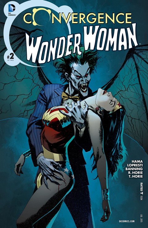 Convergence – Wonder Woman #2