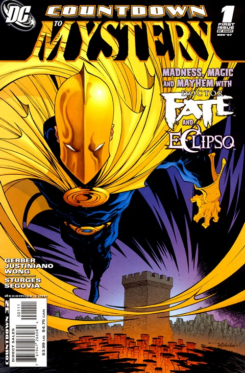 Dr. Fate – Countdown to Mystery #1 – 8