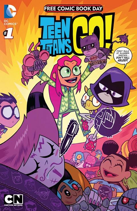 FCBD 2015 – Teen Titans Go!-Scooby-Doo Team-Up – Special Edition #1