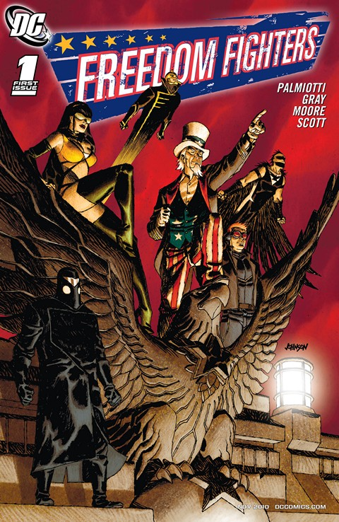 Freedom Fighters #1 – 9 (2010-2011)