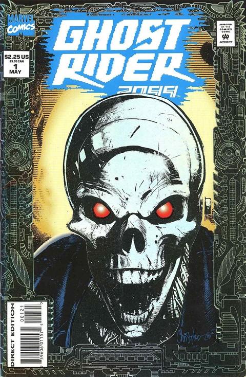 Ghost Rider 2099 #1 – 25 + Extra