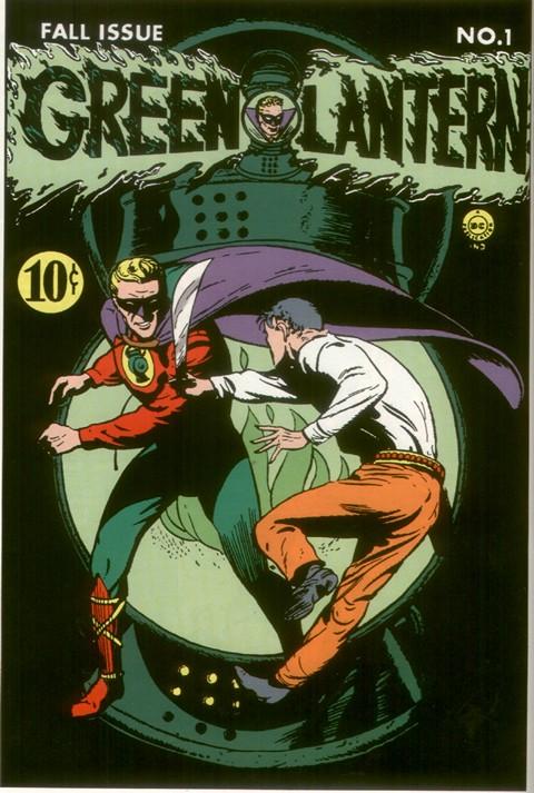 Green Lantern Vol. 1 Quarterly #1 – 18 (1941-1945)