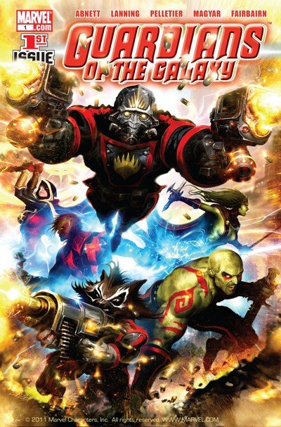 Guardians of the Galaxy Vol. 2 #1 – 25 (2008-2009)