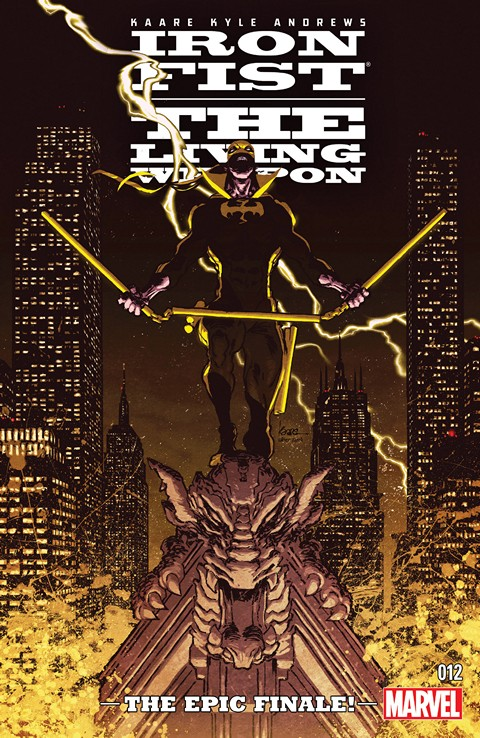 Iron Fist – The Living Weapon #12