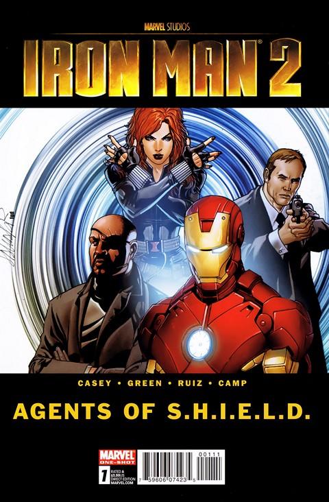Iron Man 2 – Agents Of S.H.I.E.L.D. #1 (2010)