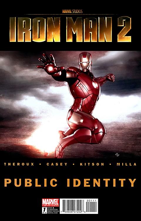 Iron Man 2 – Public Identity #1 – 3 (2010)