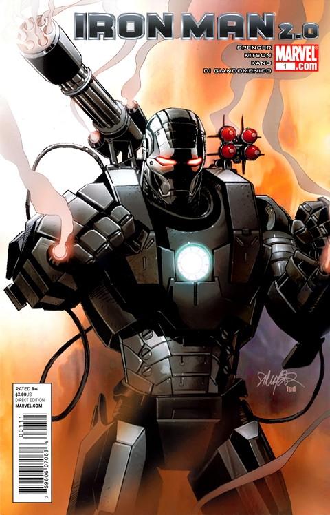 Iron Man 2.0 #1 – 12