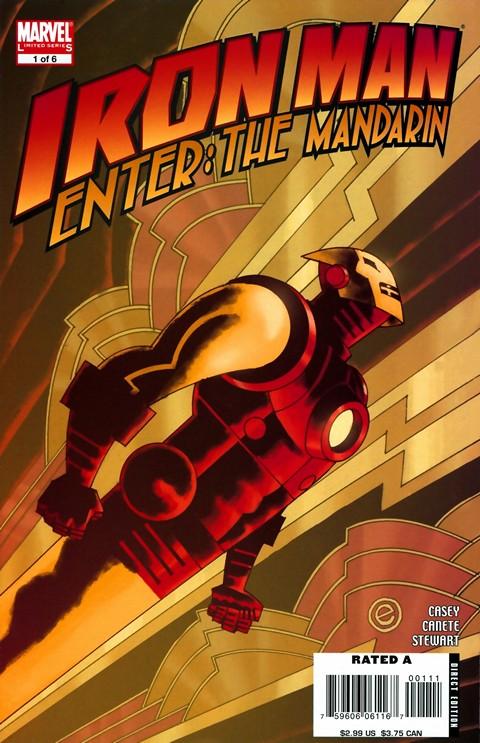 Iron Man – Enter the Mandarin #1 – 6 + TPB (2007-2017)