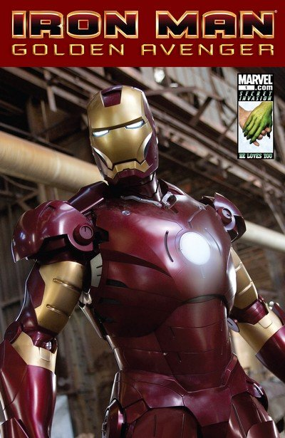 Iron Man – Golden Avenger #1 (2008)
