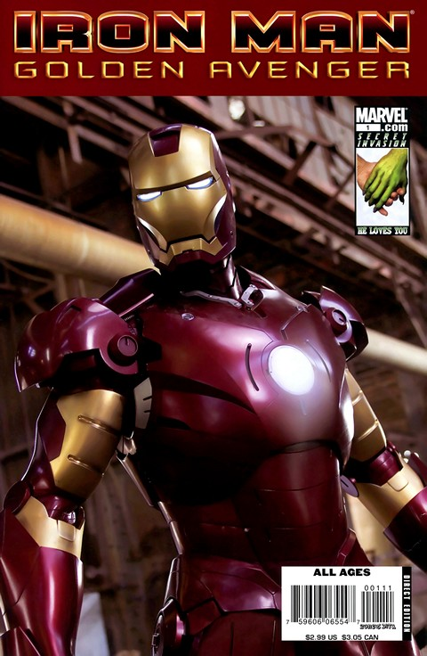 Iron Man – Golden Avenger