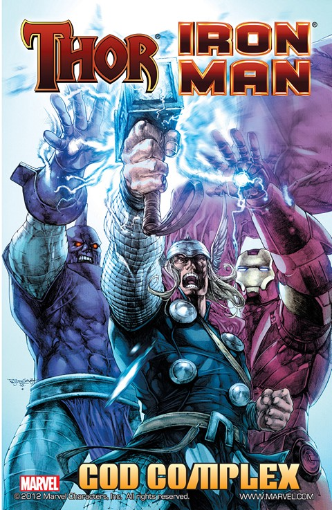 Iron Man-Thor – God Complex #1 – 4 + TPB (2011)