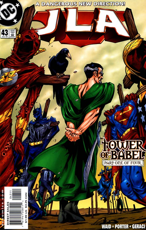 JLA – Tower of Babel #1 – 4