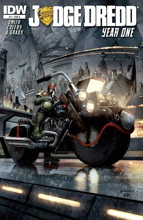 Judge Dredd Year One #1 – 4 (2013)