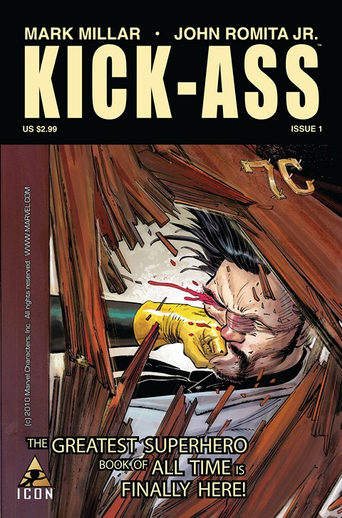 Kick-Ass Vol. 1 #1 – 8