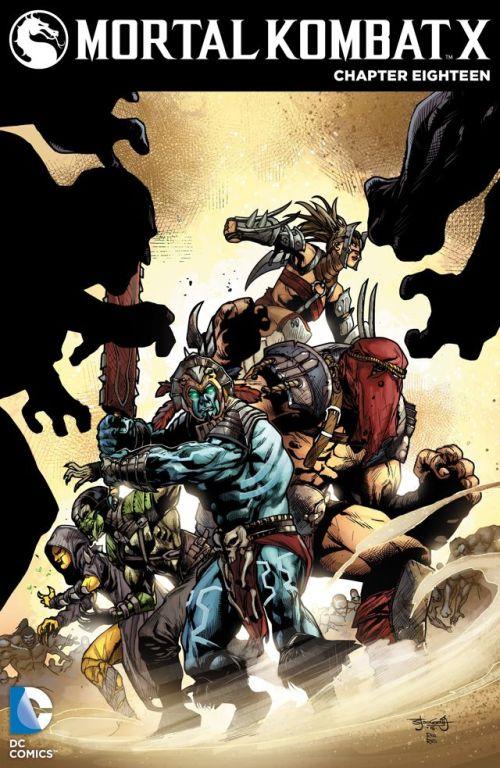Mortal Kombat X #18